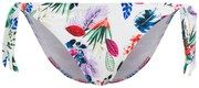 PALMERS, Dames Bikinibroek 'PALM LEAVES', blauw / groen / lichtlila / pink / rood / wit