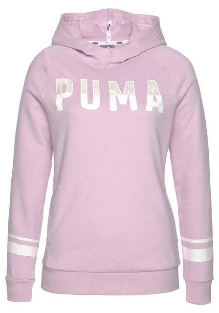 PUMA, Dames Sweatshirt 'ATHLETIC HOODY', rosa