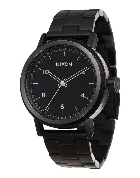 Nixon, Heren Analoog horloge 'Stark', zwart