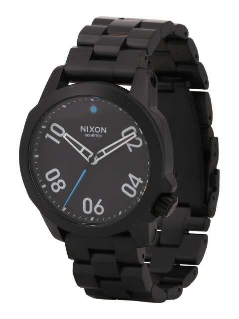 Nixon, Heren Analoog horloge 'Ranger 40', zwart