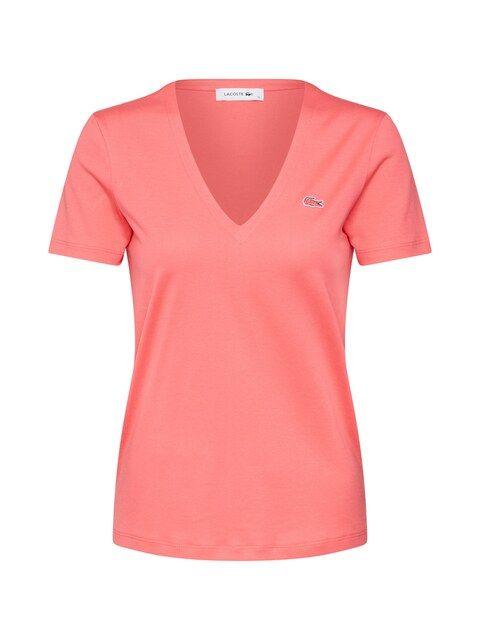 LACOSTE, Dames Shirt, oranjerood