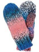 NAME IT, Jongens Handschoenen, blauw / lichtblauw / pink