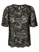 VERO MODA, Dames Shirt, zwart
