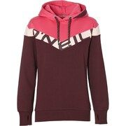 O'NEILL, Dames Sweatshirt 'LW COLOUR BLOCK OTH HOODIE', pink / bourgogne / wit