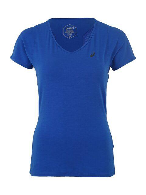 ASICS, Dames Shirt, blauw