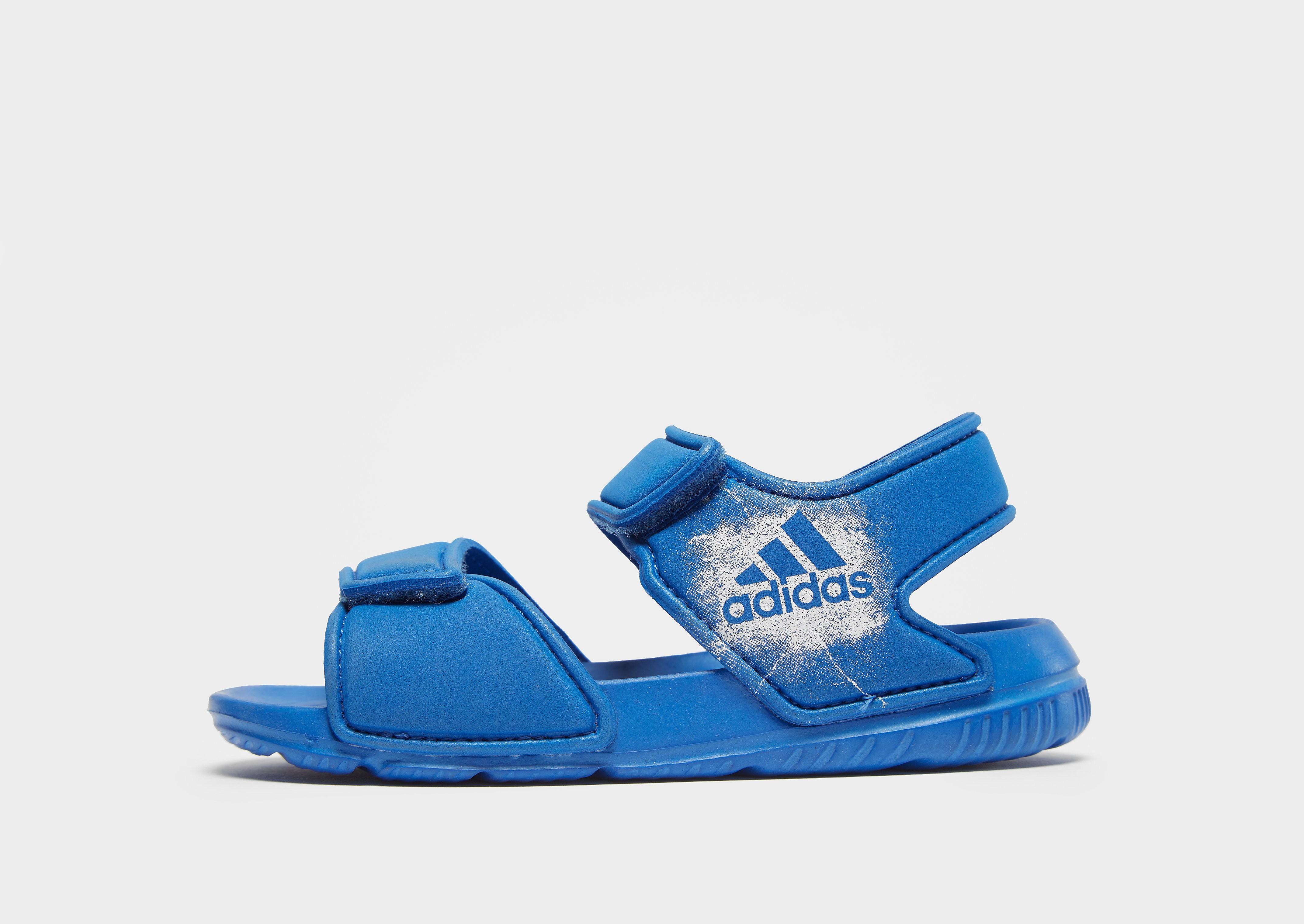 adidas Hoops mid 2.0 sneakers blauw/groen kinderen Kinderen
