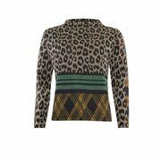 Sweater jacquard mix