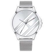 Tommy Hilfiger Horloge met milanese horlogeband zilver
