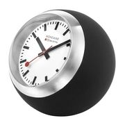 Mondaine Globe Buroklokje 60mm Zwart