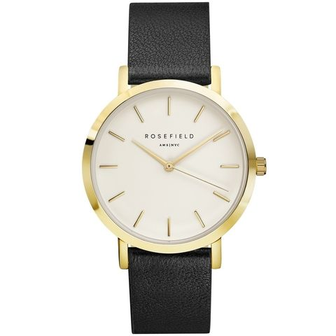 Rosefield the Gramercy 38mm White Black Gold GWBLG-G32