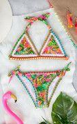 Tropic Bikini Neon Fuchsia