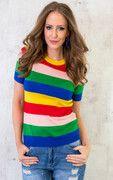 Multicolor Top