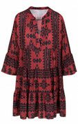 Noa Aztec Tuniek Bordeaux
