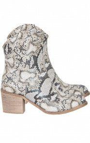 Cowboy Boots Slangenprint
