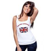 Mouwloze dames tanktop Union Jack vlag