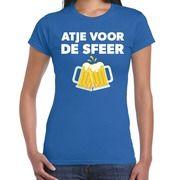 Atje voor de sfeer fun t-shirt blauw voor dames