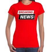 Breaking News / nieuws rood voor dames