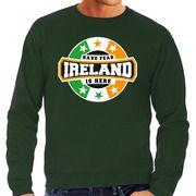 Have fear Ireland / Ierland is here supporter trui / kleding met sterren embleem groen voor heren