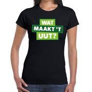Wat maakt t uut t-shirt zwart voor dames