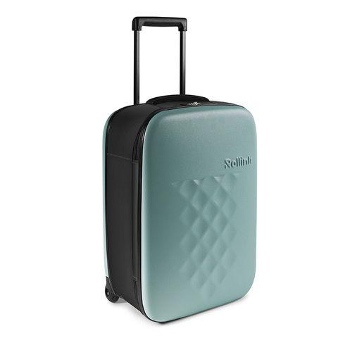 Rollink Flex Vega Opvouwbare Handbagage Koffer 55 Aquifier