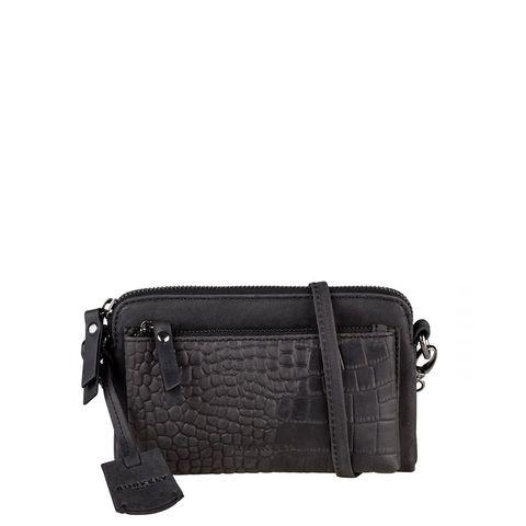 Burkely Croco Cody Minibag New Black