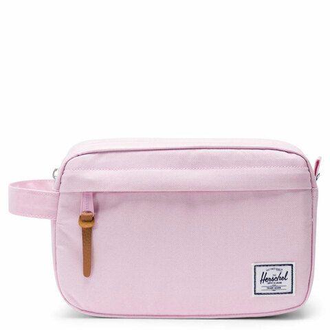 Herschel Chapter Toilettas Pink Lady Crosshatch
