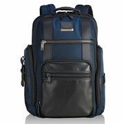 Tumi Alpha Bravo Sheppard Deluxe Brief Backpack Navy