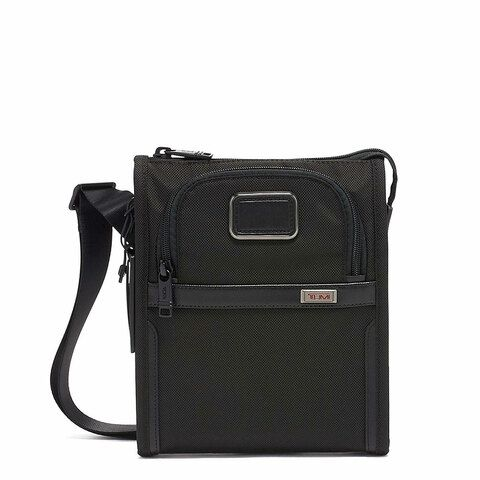 Tumi Alpha Pocket Bag Small Black