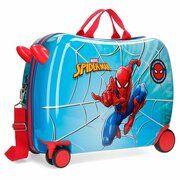 Disney Rolling Suitcase 4 Wheels Spiderman Street