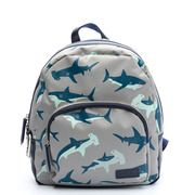 Zebra Trends Boys Rugzak Wild Shark blue