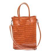 Zebra Trends Natural Bag Rosa XL Croco Cognac 416001
