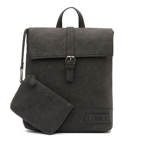 Zebra Trends Backpack Loiza Rugzak Leo Lining Black 603309A