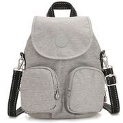 Kipling Firefly Up Backpack Chalk Grey