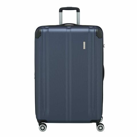 Travelite City 4 Wiel Trolley L Expandable navy Harde Koffer