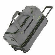 Travelite Basics Wheeled Duffle 55cm Expandable Grey/Green
