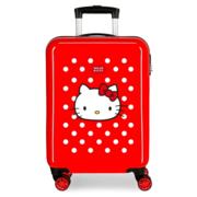 Disney Trolley 55 Cm 4 Wheels Hello Kitty Red