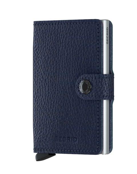 Secrid Mini Wallet Portemonnee Veg Navy / Silver