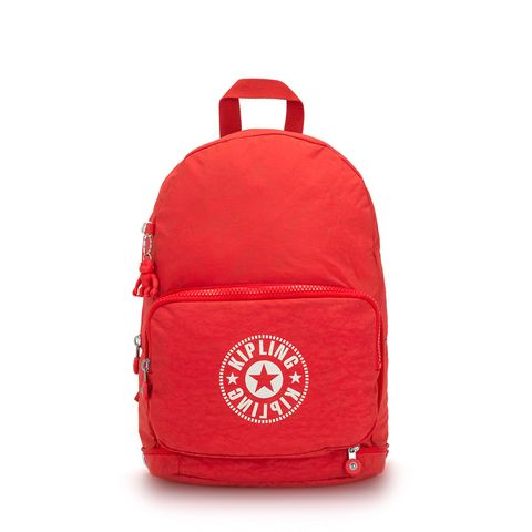 Kipling Classic Niman Fold Backpack Active Red