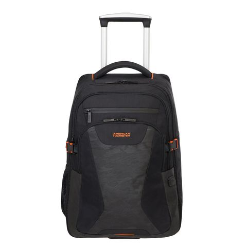American Tourister At Work Laptop Backpack Wheels 15.6'' Black/Camo