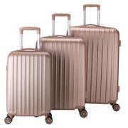 Decent Tranporto-One 3-Delige Kofferset Salmon Pink
