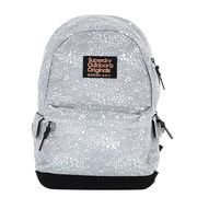 Superdry Montana Print Edition Backpack Grey Leopard