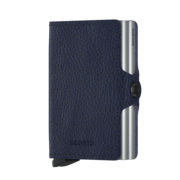 Secrid Twin Wallet Portemonnee Veg Navy / Silver