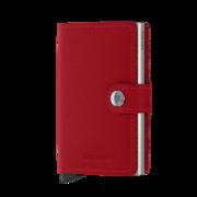 Secrid Mini Wallet Portemonnee Crisple Red