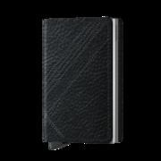 Secrid Slim Wallet Portemonnee Stitch Linea Black