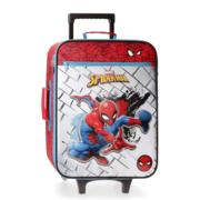 Disney Soft Trolley 50 Cm 2 Wheels Spiderman Red