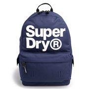 Superdry Montana Logo Backpack Downhill Blue