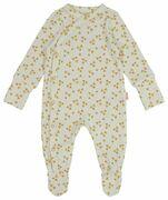 HEMA Newborn Jumpsuit Met Bamboe Wit (wit)
