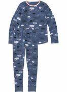 HEMA Kinder Pyjama Blauw (blauw)
