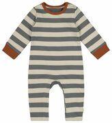 HEMA Newborn Jumpsuit Grijs (grijs)