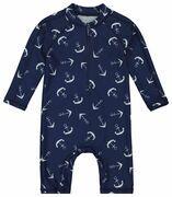 baby zwempak met UPF 50+ blauw